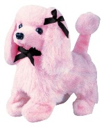 Magic Pink Poodle Battery Operated Dog